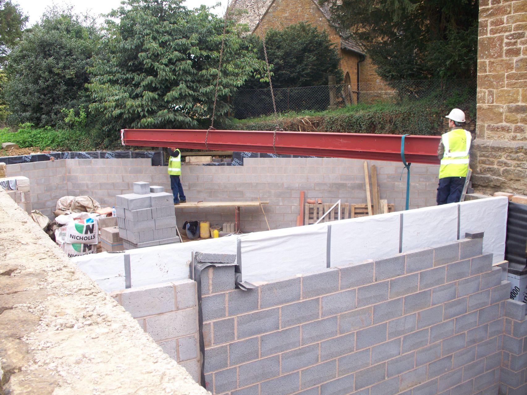 Underground Garage Refurbishment in Shenington KSW