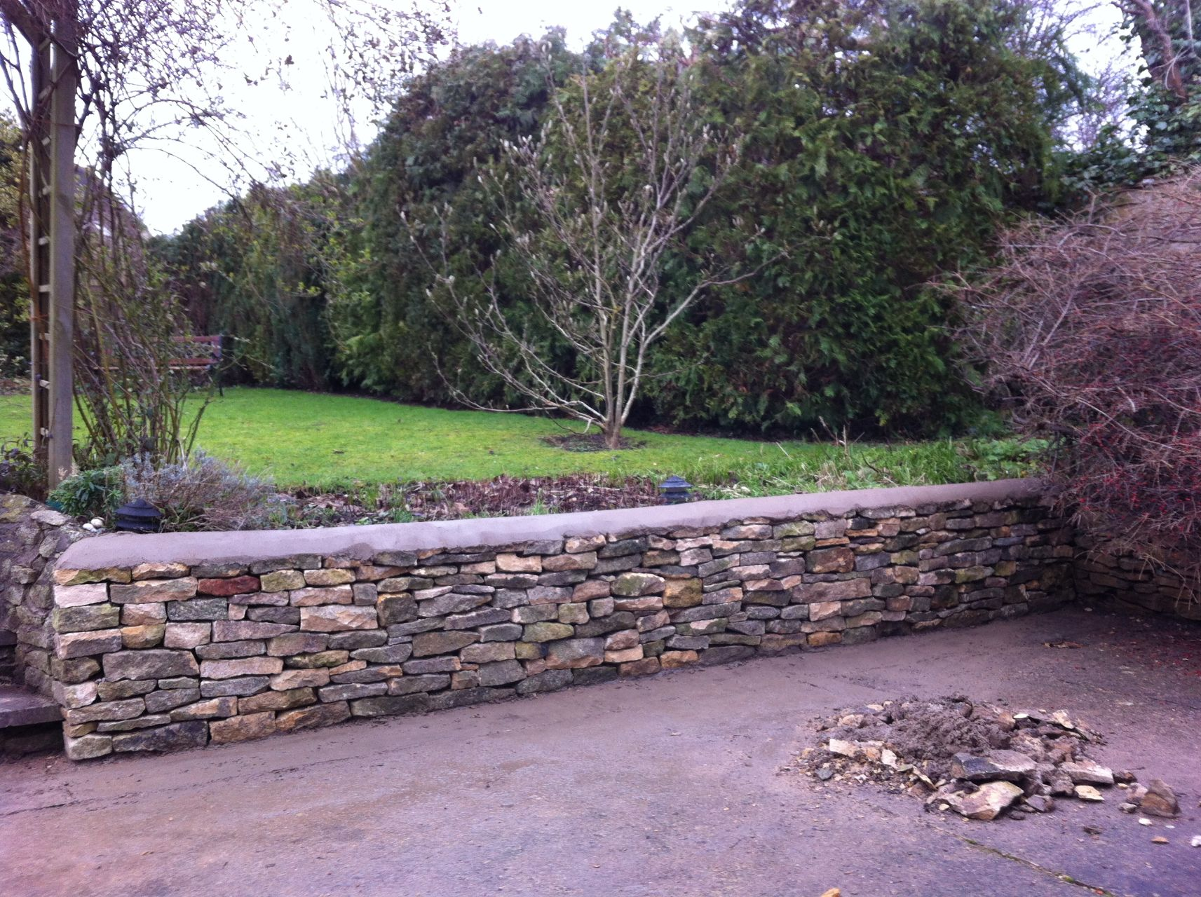 Dry Stone Walling in Tredington