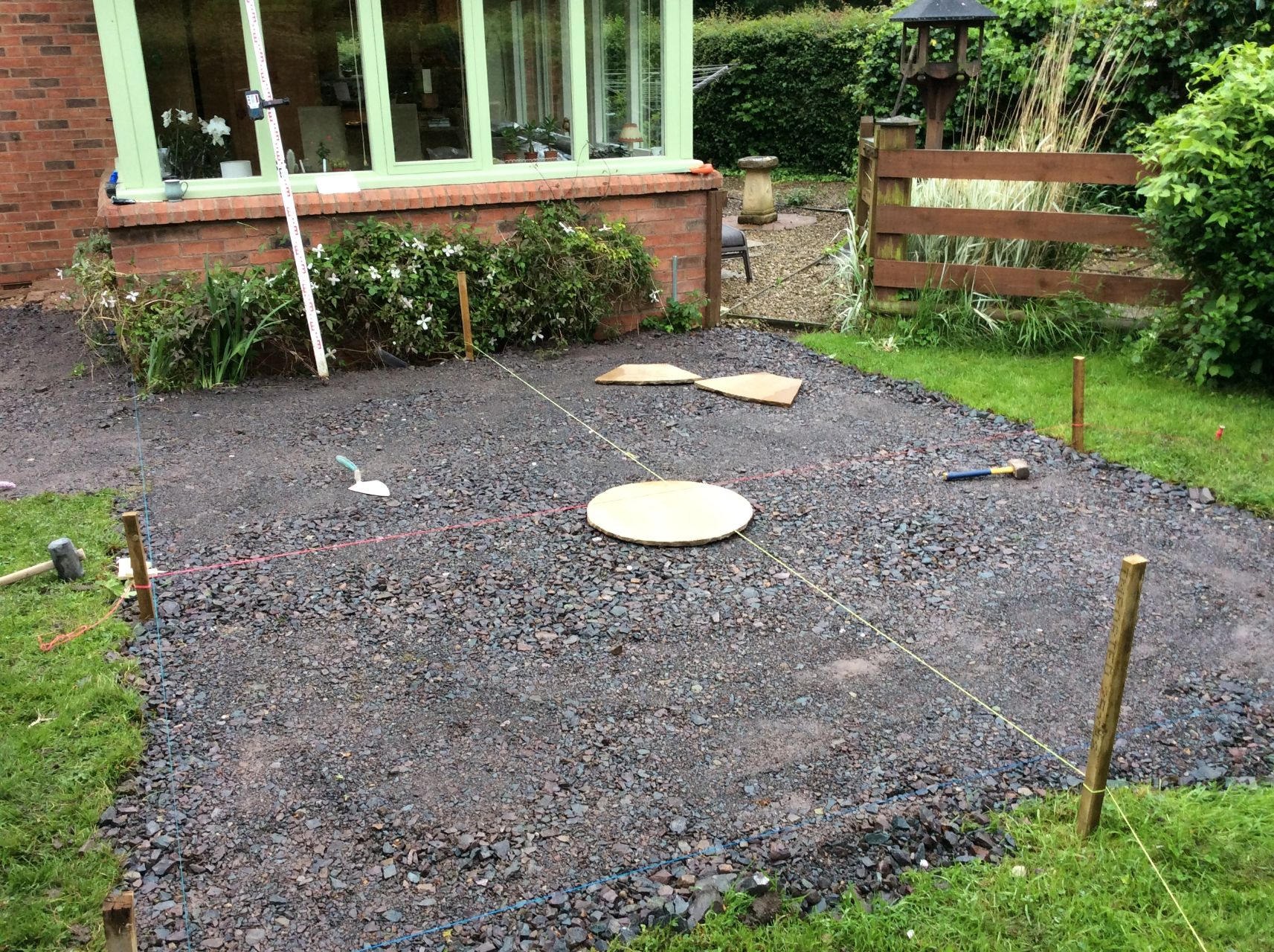 Garden Design & Landscaping in Long Marston