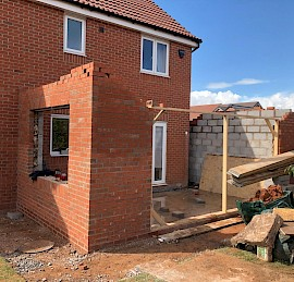 Single Storey Kitchen Extension in Coventry