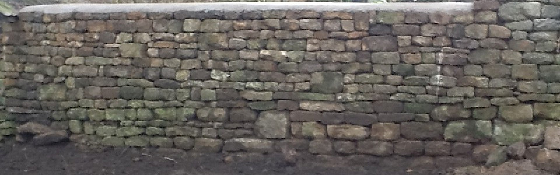 Dry Stone Walling in North Newington