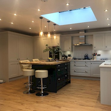 Kitchen Extension & Patio in Stratford-upon-Avon